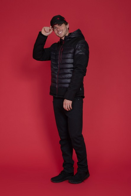 Puffy jacket LORIOUS Black