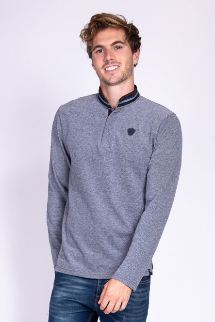 Long sleeves polo PRACITO...