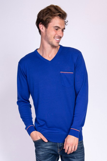 Sweater SALOMON Royal blue