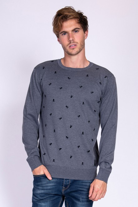 Sweater SCAMPERY Dark grey