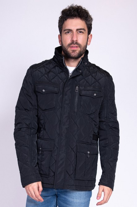 Padded coat LESTER Black