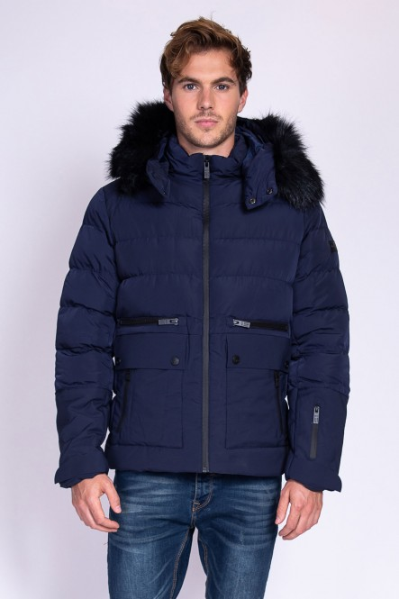Hooded padded jacket LOAD...