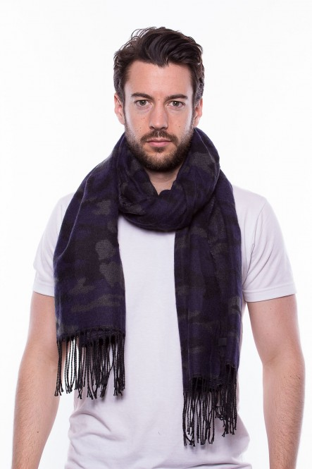 Scarf SC-CAMOU Navy