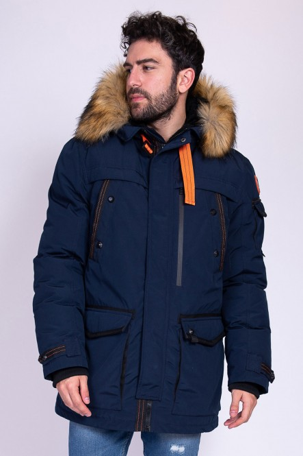 Hooded padded coat LEVELY...