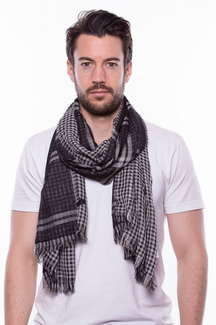 Scarf SC-CHECKS Black