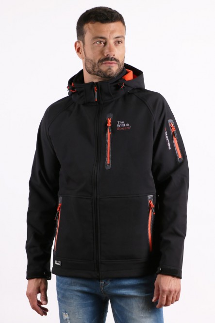 Softshell jacket IFRAME Black