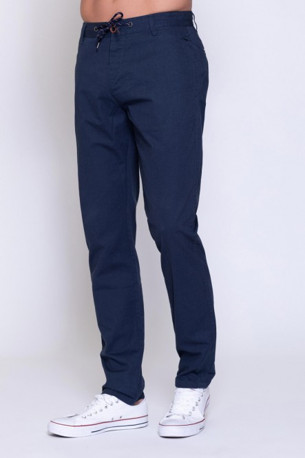 Pants ELIOR Light navy