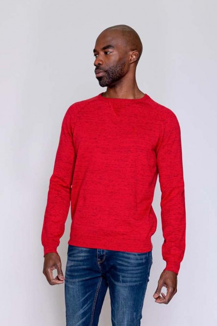 Pull fin AVRIL Rouge