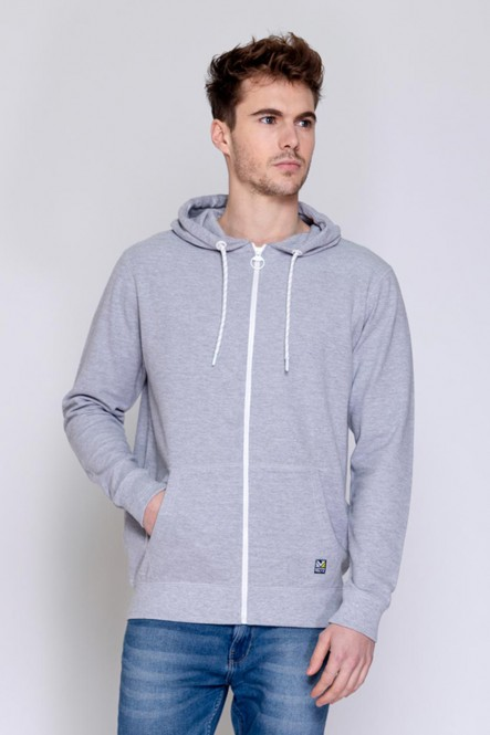 Zipped sweat , hooded JUNA...