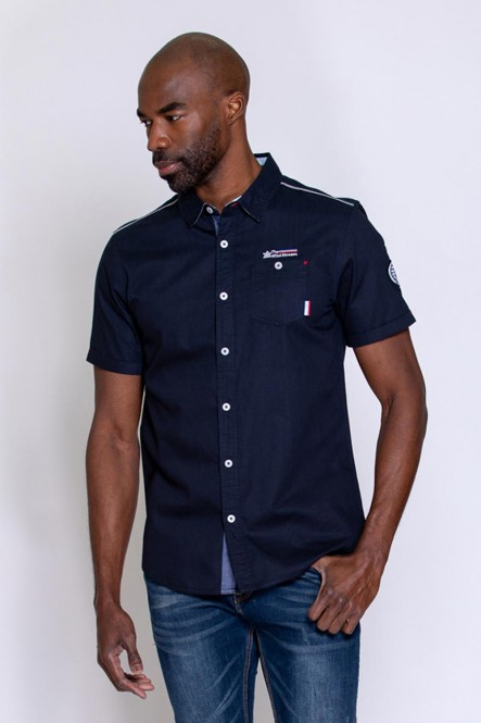 Short sleeves shirt CORTO Navy