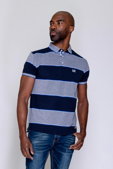 Short sleeves polo PITCHY Navy