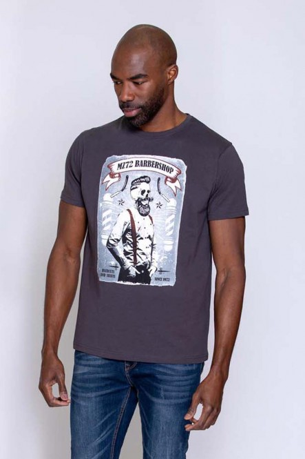Printed t-shirt THEDUDE Orage