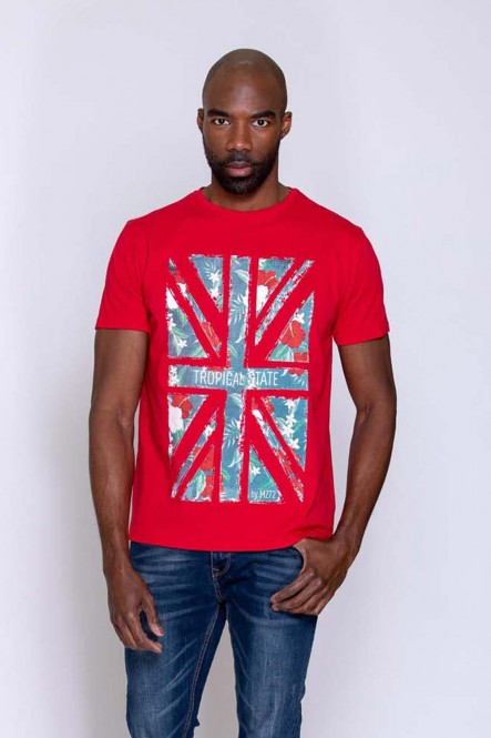 Printed t-shirt THECOUNTRY...