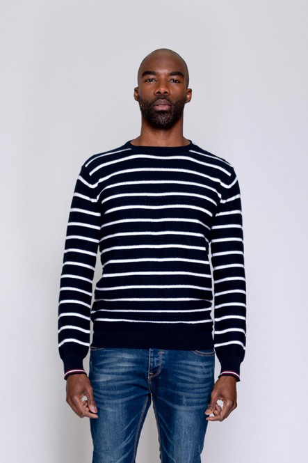 Thin sweater ALLURE Navy