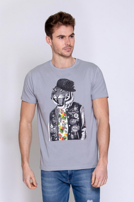 Printed t-shirt THESTYLISH...