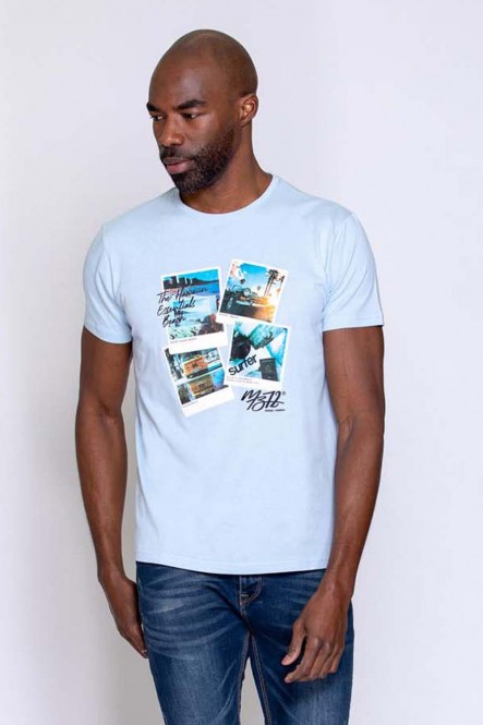 Printed t-shirt THEPOSTCARD...