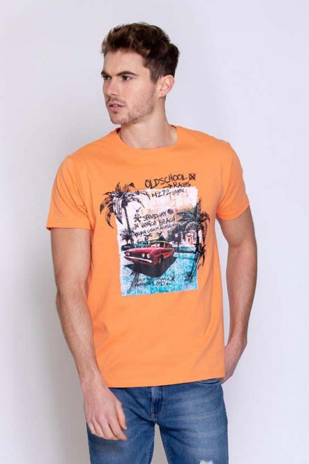 Printed t-shirt THEDRAW Sunset