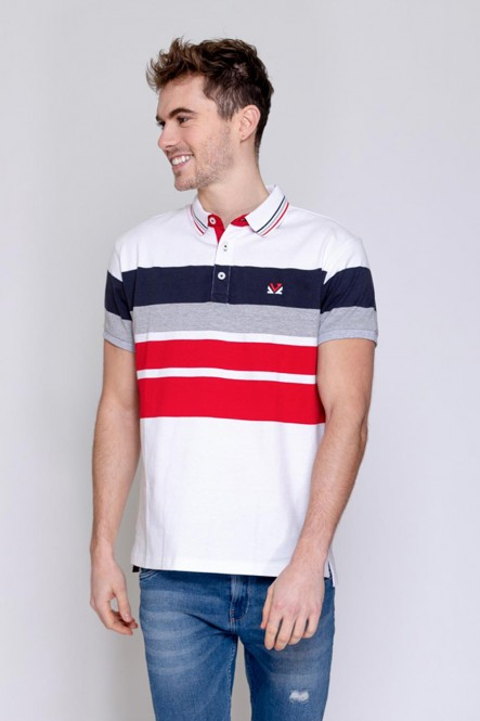 Short sleeves polo PARO White