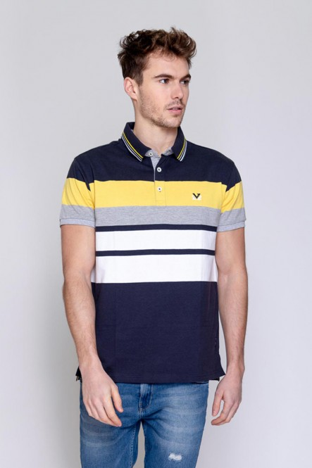 Short sleeves polo PARO Navy