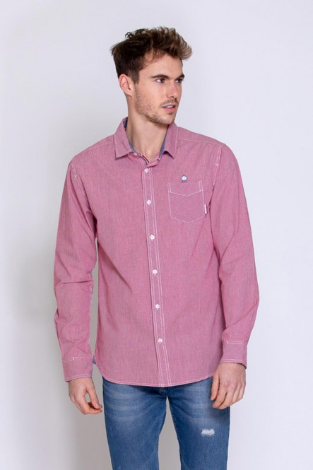 Long sleeves shirt DROMON Red