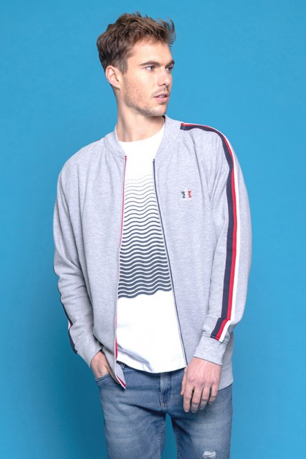 Zipped sweat JOOM Light grey