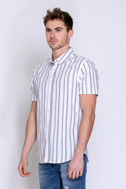Short sleeves shirt COOLEST White