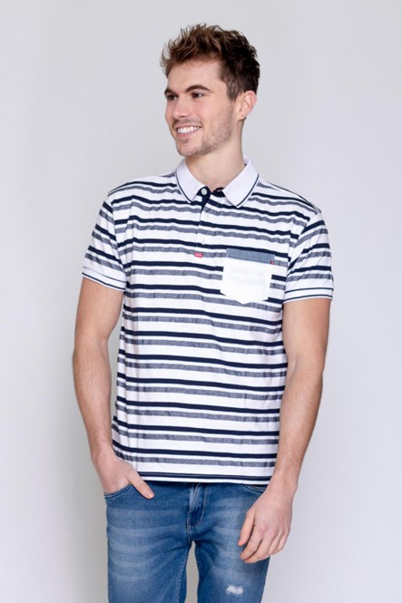 Short sleeves polo...