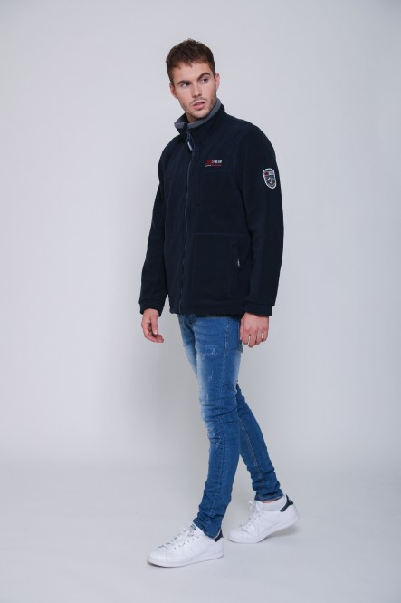 Man polar fleece jacket...