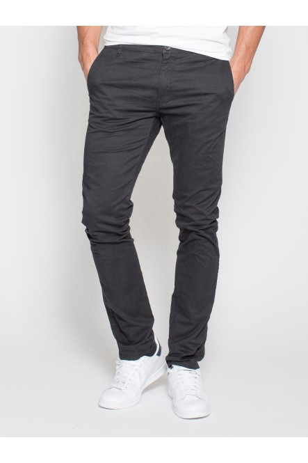 Stretch chino pants ERGO Black