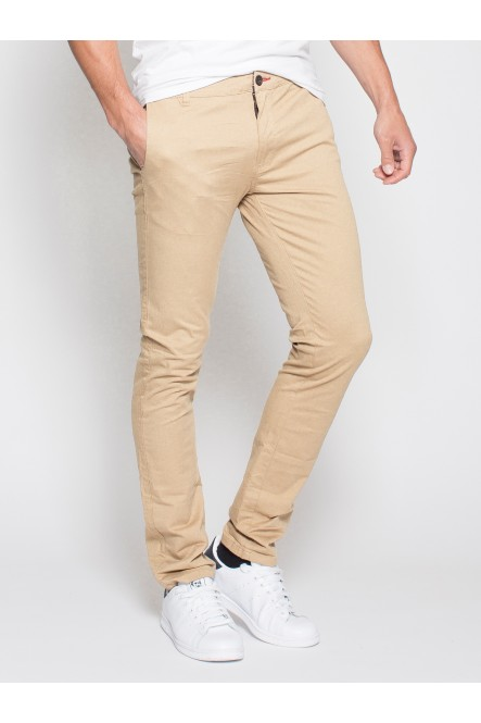 Stretch chino pants ERGO Sand