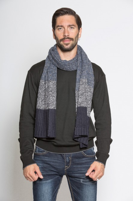 Knitted scarf AC-COLD Deep...