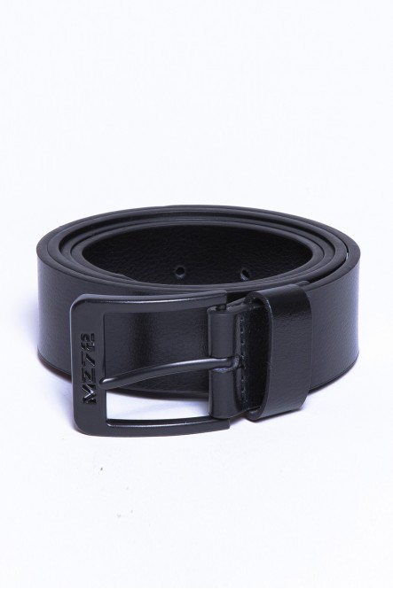 Leather belt BELT-DULL Black