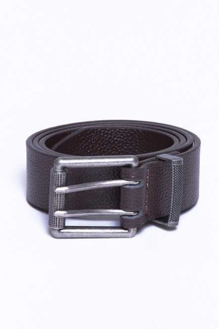 Ceinture cuir BELT-BILL Marron
