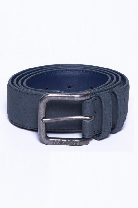 Suedine belt BELT-SOFT Navy