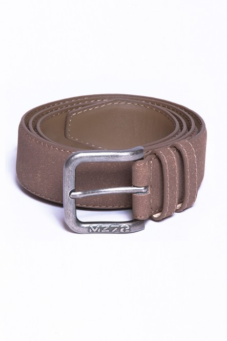 Suedine belt BELT-SOFT Brown