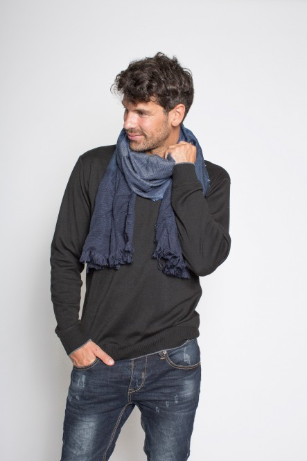 Woven scarf SC-SHADED Blue...