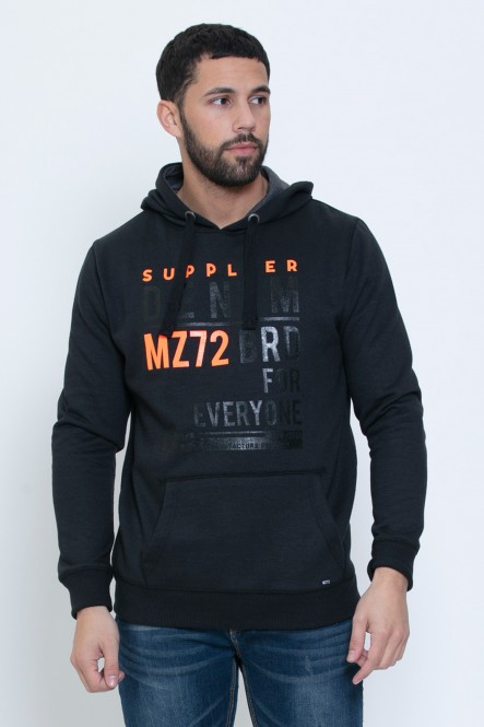 Printed hooded sweatshirt...