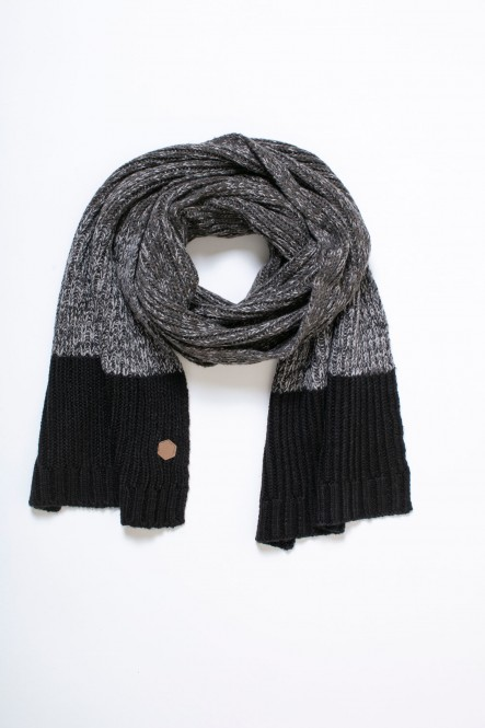 Knitted scarf AC-COLD Black