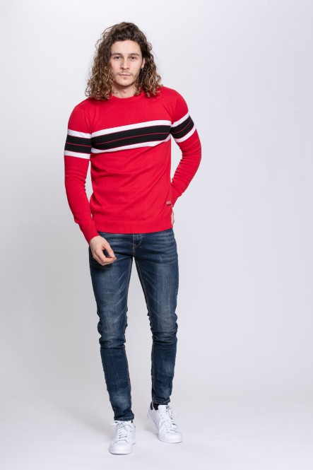 Pull col rond sport ABLOCK...