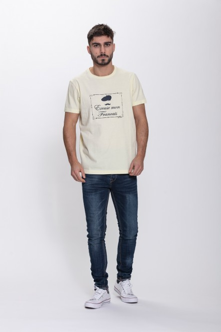 Printed t-shirt THEBELIEVER...