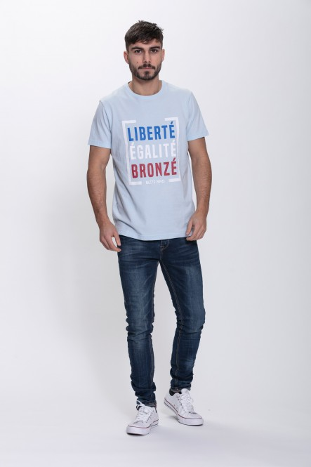 Printed t-shirt THEFRENCH A...