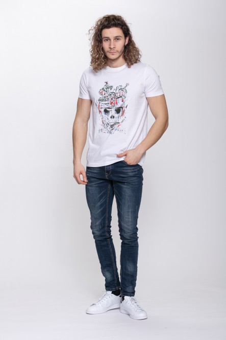 Printed t-shirt THEPARTY A...