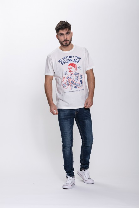 Printed t-shirt THELOBSTER...