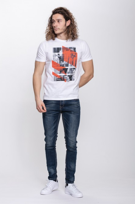 Printed t-shirt THENOISE A...
