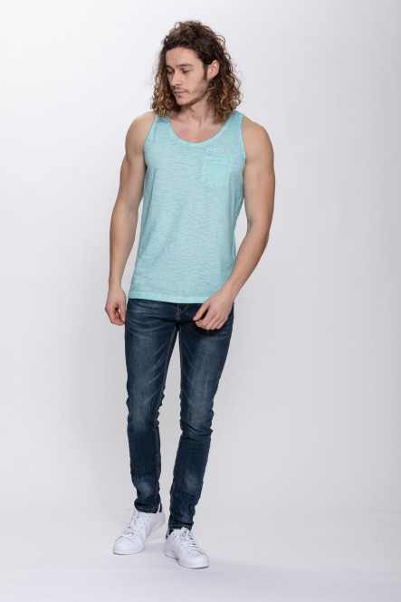 Cold dyed tank top URANUS...