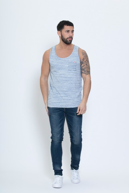 Tank top ULYS Light blue