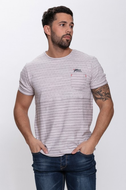 Fancy t-shirt TANSY Light grey