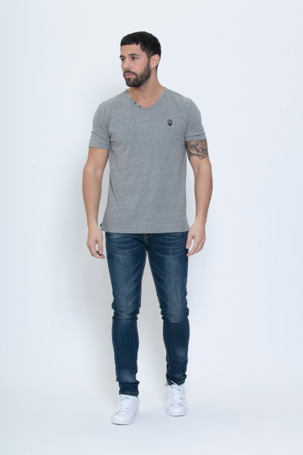 V-neck t-shirt TALEN SNOW...