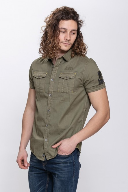 Military short-sleeve shirt...