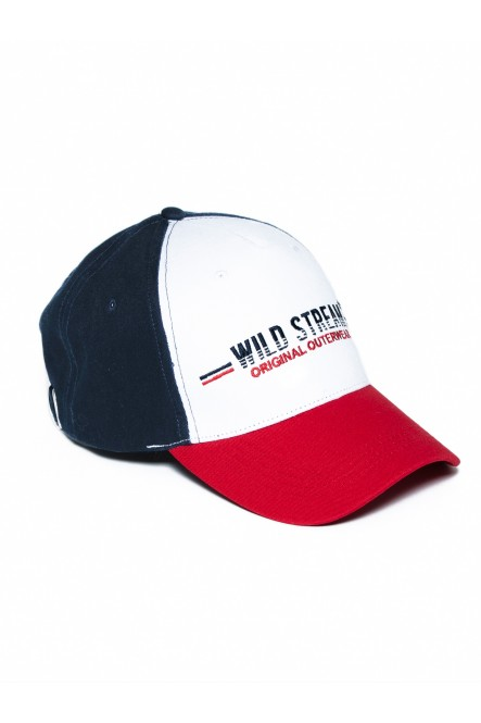 Tricolor cap CAP-CUP Chili red